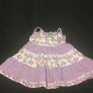 EUC Purple n White Brooks Fitch Baby Girls s6-9M